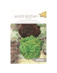 World Kitchen Sla Lollo Bionda & Lollo Rossa zaden