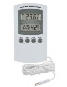 Thermo / Hygrometer digitaal met externe sensor