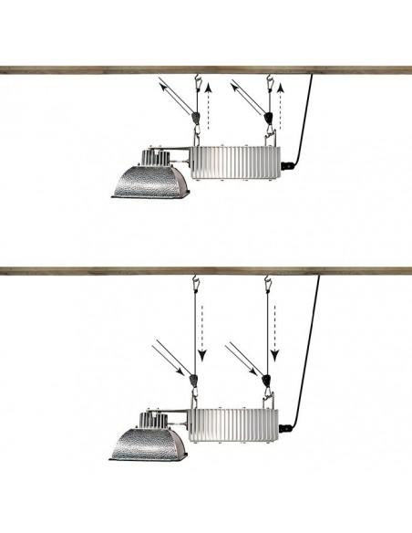 Rope Ratchet ophangsysteem