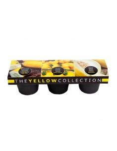 Buzzy Color 3 pots Zwart/Grijs Geel
