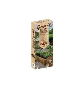 Grow-it Groeitunnelmet pvc doek 2x0,6 mtr