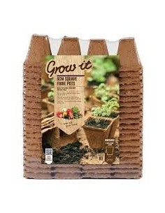 Grow-it Vezel pot vierkant 6 cm (80 st.)
