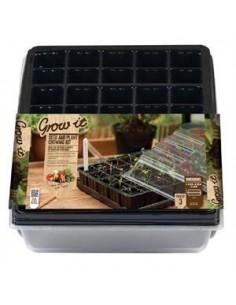 Grow-it Kweekkas 40 vaks + tray kap 38x24 cm (3 st.)