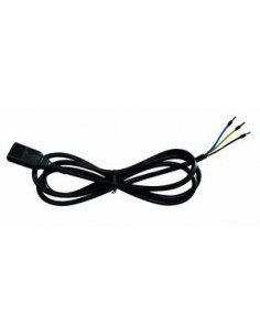 IEC computer cable 2 mtr loose threads