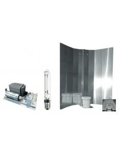 Zelfbouwset 400 W Philips + GE Luxalox bulb + Spiegelkap