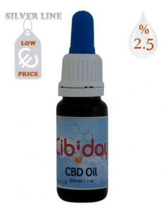 Cibiday Budget CBD oil CBD 2,5% 10ml