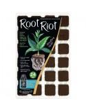 Clonex Root Riot Tray 24 st. p/tray