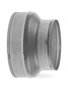 Verloopstuk (reductie) 160/200 mm staal