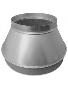 Verloopstuk (reductie) 315/400 mm staal