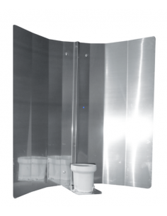 Master Gear mirror cover 50 cm (V-vorm)