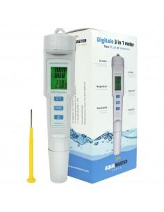 Aquamaster Digitale pH/EC/temp meter