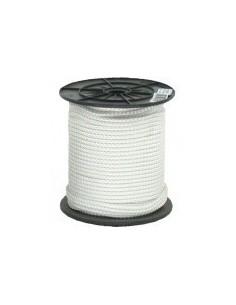 Touw wit nylon 6 mm.