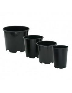 Pot rond PE 25 ltr Hoog model