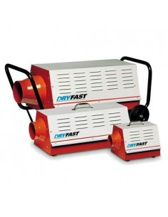 Dryfast DFE 80T, 6/9/ 15kW, uitblaas 200mm