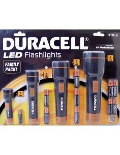 Duracell LED zaklampen (set van 4) met batterijen