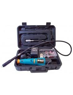 Bort Multislijper / graveerapparaat 9,6V (met 40 accessoires) in koffer