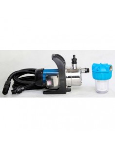 RP 3500 Inox compleet met aanzuigslang en waterfilter