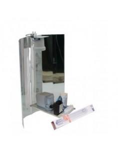 Zelfbouwset 400 W Philips + Osram Nav-T super bulb + Spiegelkap