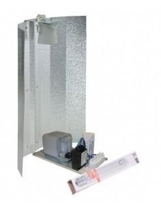 Zelfbouwset 400 W Philips + Osram Nav-T super bulb + Hamerslagkap