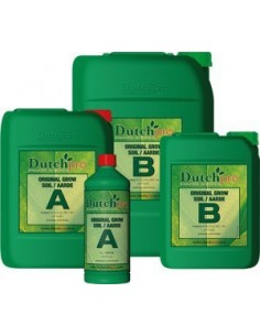 Dutchpro Aarde/Soil Grow A + B 5ltr.