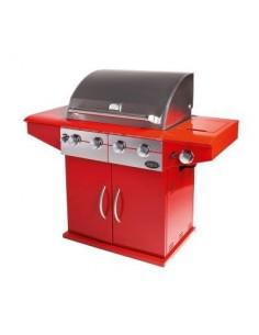 Boretti Da Vinci incl. wokbrander rosso