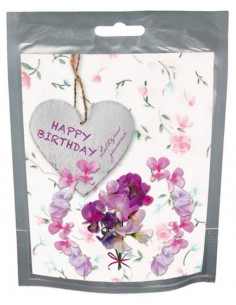 Wishes Happy Birthday ( Lathyrus geuroase)