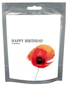 Wishes Happy Birthday (Klaproos)