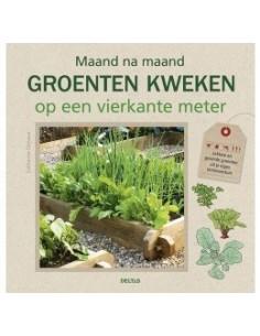 Boek-Maand na maand groenten kweken op een vierkante meter