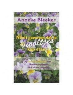 Boek-Nooit geweten dat je viooltjes kan eten