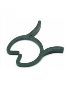 Clipring 20 mm groen