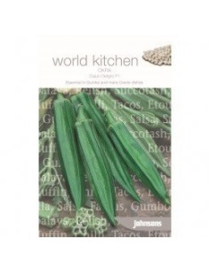 World Kitchen Okra Cajun Delight F1 zaden