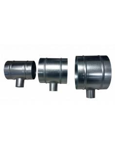 T-stuk 160mm-50mm-160mm